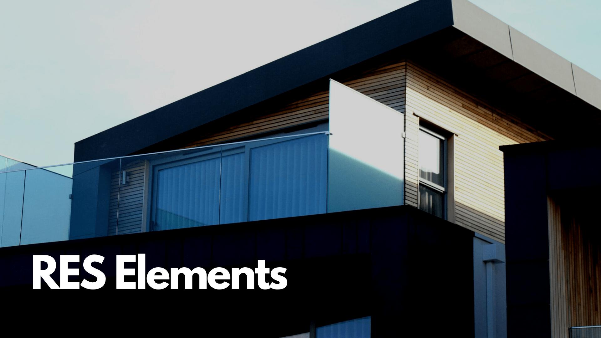 RES Elements